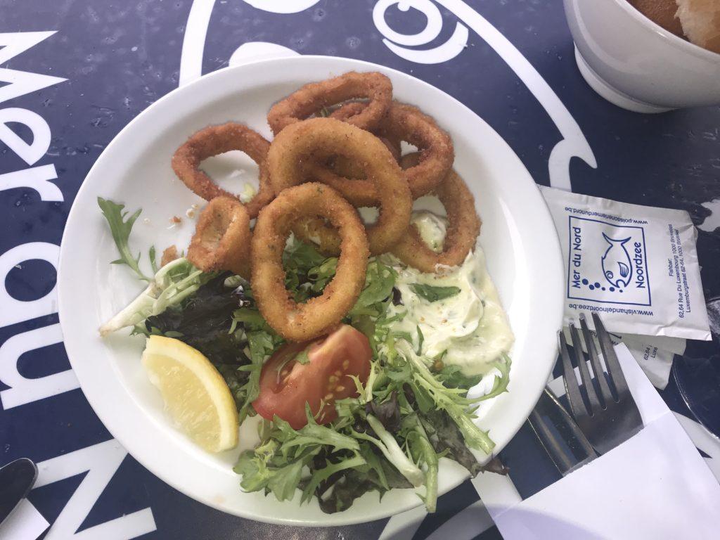 Noordzee-Mer du Nord calamars frits